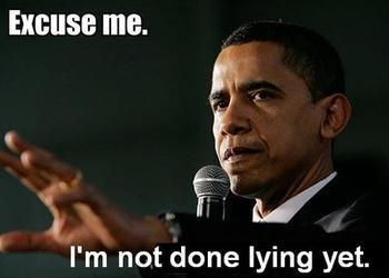 The lies of President Obama